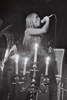 Runhild Gammelsæter Norwegian singer and biologist