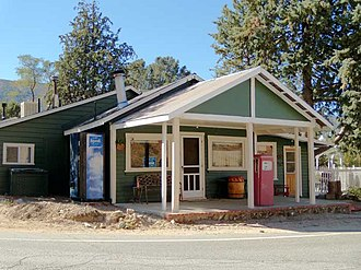 Three Points, California - Former cafe was turned into a private residence.