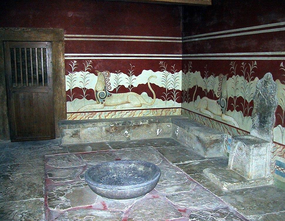 Throne Hall Knossos