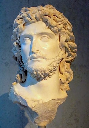 Roman Crimea - Bust of Tiberius Julius Sauromates II (d. 210 AD), from the Acropolis Museum