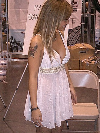 Tila Tequila - Tequila at a car show in December 2005