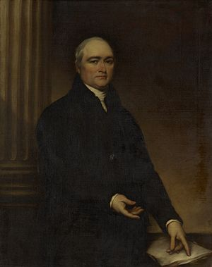 Timothy Dwight IV - Portrait of Dwight by John Trumbull
