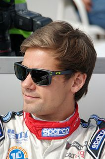 Tom Chilton British racecar driver