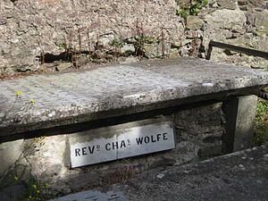 Charles Wolfe - Grave of Charles Wolfe in Cobh