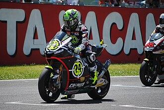 2010 Grand Prix motorcycle racing season - Image: Toni Elias 2010 Mugello