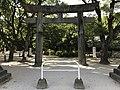 Torii of Sumiyoshi Shrine in Fukuoka City.jpg
