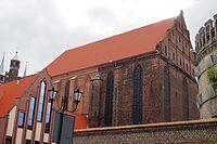 Toruń, kościół pw. WNMP (od ul. Fosa Staromiejska) (OLA Z.)
