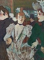 Toulouse-Lautrec - La Goulue at the Moulin Rouge, 1891-92.jpg