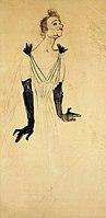 Toulouse-Lautrec - YVETTE GUILBERT, 1894, MTL.162.jpg