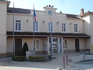 Toussieu - The town hall in Toussieu