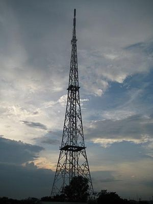 GMA Network (company) - GMA Network transmitter at Brgy. Culiat, Tandang Sora, Quezon City