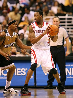 NBA Most Improved Player Award - Tracy McGrady won the award in the 2000–01 NBA season.
