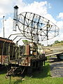 Trailer-mouted radar at the Muzeum Polskiej Techniki Wojskowej in Warsaw (2).JPG