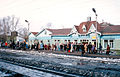 Trans-Siberian Railway 1990. Waiting For A Train At Zima.jpg
