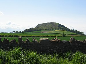Hillforts in Scotland - Traprain Law in East Lothian