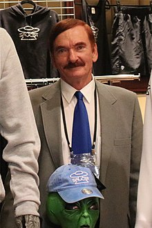 Travis Walton at the 2019 International UFO Congress.