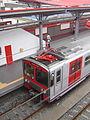 Tren del Metro de Lima en la estación Villa El Salvador.JPG
