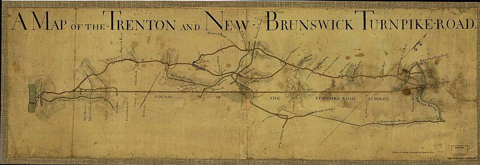 Trenton NBturnpike 1777