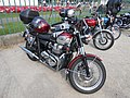 Triumph motorcycle at the 2014 Birkenhead Park Festival of Transport.jpg