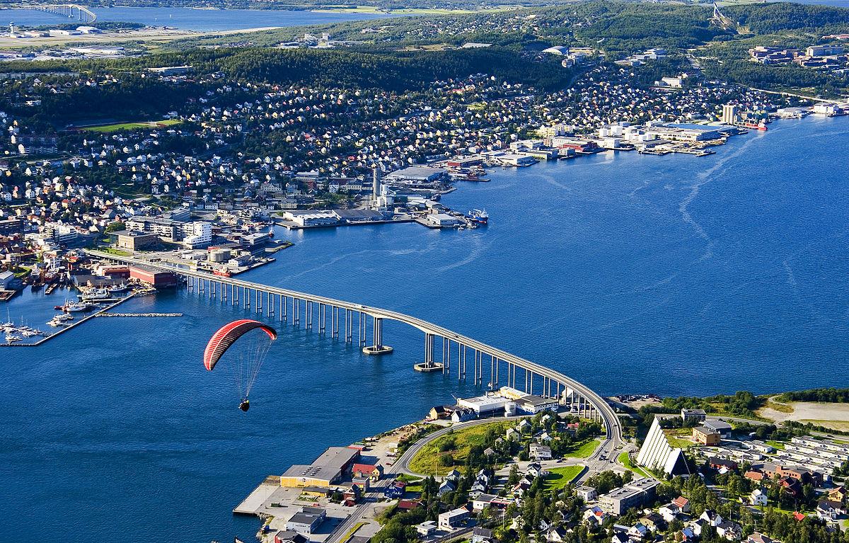 Tromsø Wikipedia - Norway map tromso