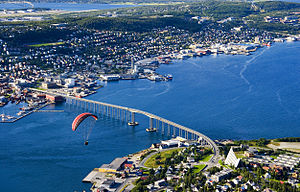 Tromsø - Tromsø and the Tromsø Bridge