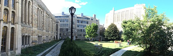 Trumbull College Courtyard