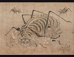 Rouleau illustré de Tsuchigumo