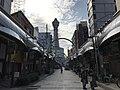 Tsutenkaku-Hondori Shopping Street and Tsutenkaku Tower 3.jpg