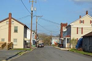 Mifflin, Pennsylvania - Tuscarora Street