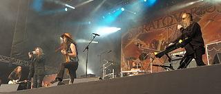 Stratovarius Finnish power metal band