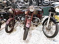 Two red ČZ motorcycles.JPG