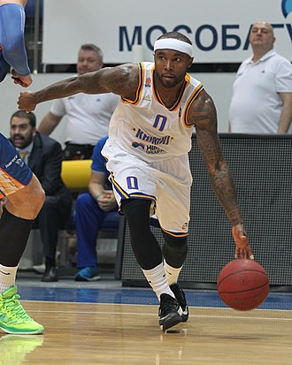 Tyrese Rice - Rice with Khimki in 2015