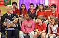 U.S. Army Maj. Gen. Peter Lennon, the commanding general of the 377th Sustainment Command, reads to a first-grade class at the Cypress Cove Elementary School in Slidell, La., March 22, 2013 130322-A-PT355-026.jpg