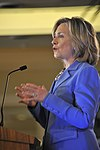 U. S. Secretary of State Hillary Rodham Clinton addresses military and political leaders of Hawaii DVIDS334369.jpg