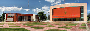 Benito Juárez Autonomous University of Oaxaca - Image: UABJO Campus Pano
