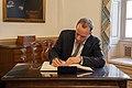 UK Foreign Secretary Raab Signs Secretary Pompeo's Guestbook (49354283101).jpg