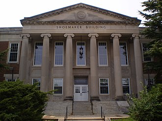University of Maryland Libraries - The Shoemaker Building, formerly the campus library.