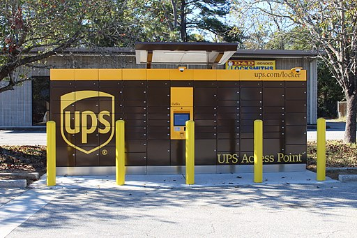 UPS Access Point lockers, Valdosta