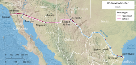 Mexico–United States barrier - Wikiwand