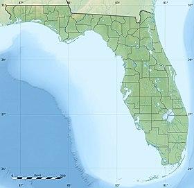(Voir situation sur carte: Floride)