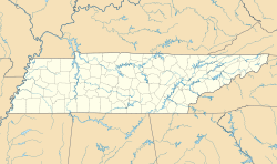 USA Tennessee location map.svg