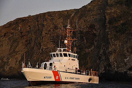 USCGC Narwhal at Santa Cruz Island (September 2019) USCGC Narwhal off the coast of Santa Cruz Island.jpg