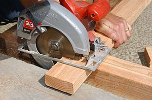 Circular saw - A hand-held circular saw is the most conventional circular saw