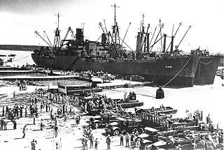 USS <i>Aquarius</i> (AKA-16) WWII US attack cargo ship