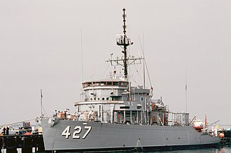 Aggressive-class minesweeper - Image: USS Constant (AM 427)