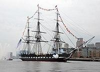 USS Constitution fires a 17-gun salute.jpg