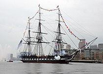USS Constitution fires a 17-gun salute.jpg