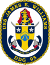 USS James E. Williams DDG-95 Crest.png