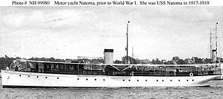 USS <i>Natoma</i> (SP-666) Patrol boat