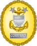 US Coast Guard Commandant-designated command master chief petty officer Identification Badge.png